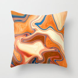 Only Gold Counts Throw Pillow