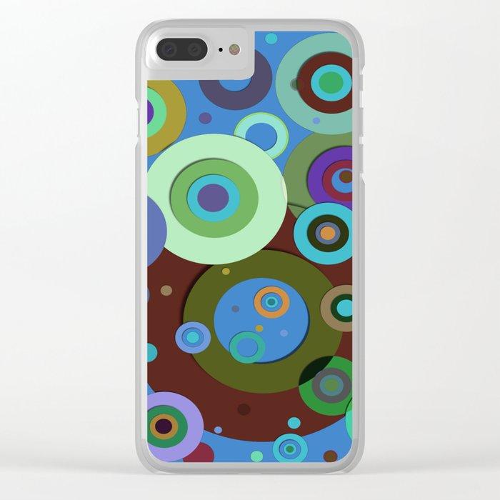 Op Art #9 Clear iPhone Case