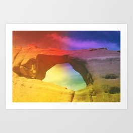 arches nat'l park (2) Art Print