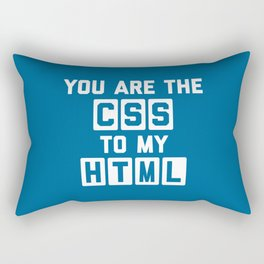 CSS To My HTML Funny Quote Rectangular Pillow