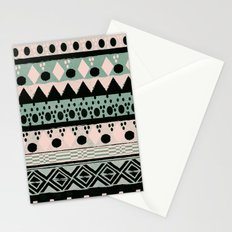 PASTEL NORDIC TRIBAL  Stationery Cards