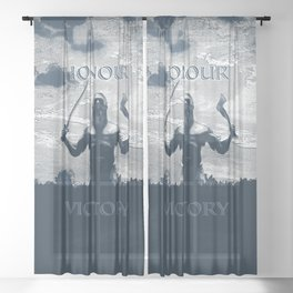 Viking Honour Sheer Curtain