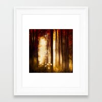 dreams Framed Art Prints featuring Dreams by Viviana Gonzalez