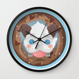 Poro with Mustache on a Poro-Snax Wall Clock