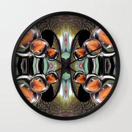 Butterfly Crystal Ball Fantasy Wall Clock