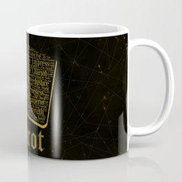 Tarot Major Arcana Word Art Coffee Mug