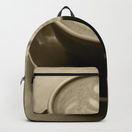 Cappuccino Heart Backpack