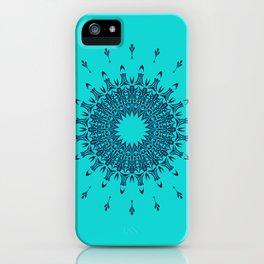 Blue Symmetry  iPhone Case