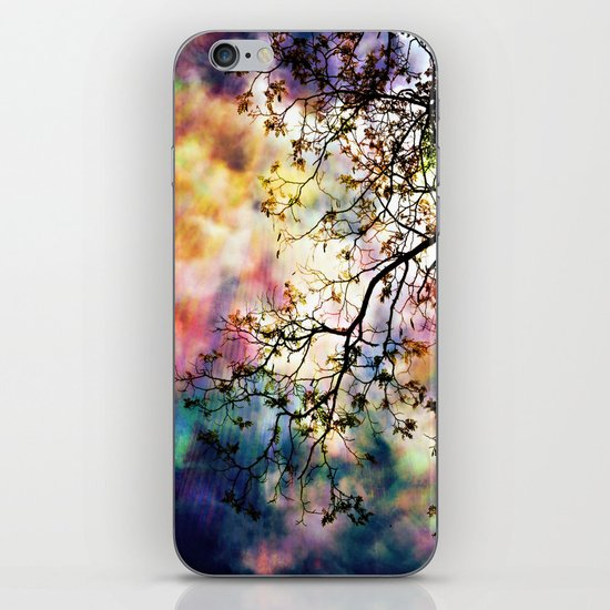 the Tree of Many Colors iPhone Skin