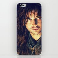 kili iPhone & iPod Skins featuring kili portrait by Ronnie