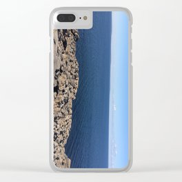 Calm Day Clear iPhone Case