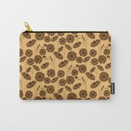 Dusty Daisies Carry-All Pouch