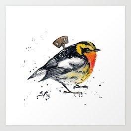 Wind Up Mini LXVIII Art Print