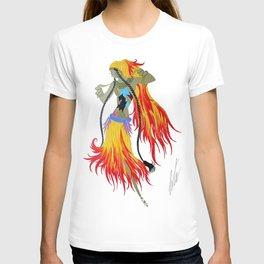 "1920's Art Deco Illustration ""Gypsy Dancer"" T-shirt"