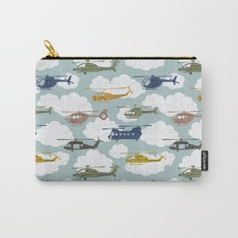 Kids Room Helicopters Carry-All Pouch