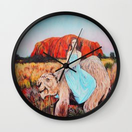 East of the Sun West of the Moon Wall Clock