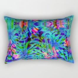 Vaporwave Palms #1 Rectangular Pillow