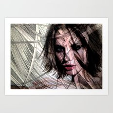 Celebrity Row - Sienna Art Print