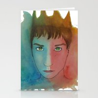 ben giles Stationery Cards featuring Ben by unicorned