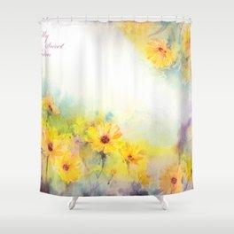 My Secret Garden Shower Curtain