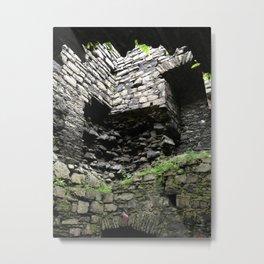 Rosslee Castle Metal Print