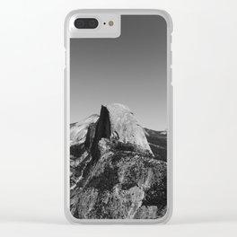 Glacier Point, Yosemite National Park VI Clear iPhone Case