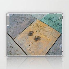 Marilyn Hand Prints in Hollywood Laptop & iPad Skin