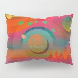 """""""Sci-fi Pop Landscape"""" Pillow Sham"""