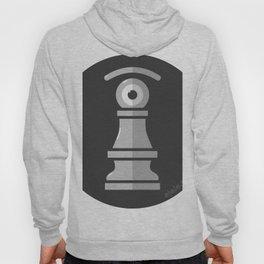 pawn's eye b&w Hoody