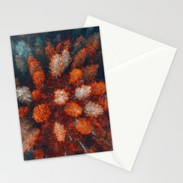 Rust of Fall Stationery Cards