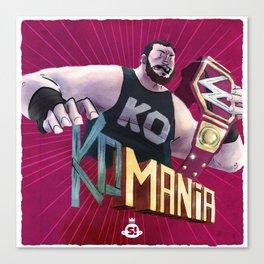 Champions: KO-Mania Canvas Print