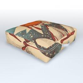 Sun Melting Outdoor Floor Cushion