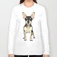 chihuahua Long Sleeve T-shirts featuring Chihuahua by jackwatson05