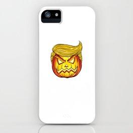 Trumpkin Keep Halloween Great Trump Pumpkin Jack O Lantern product iPhone Case
