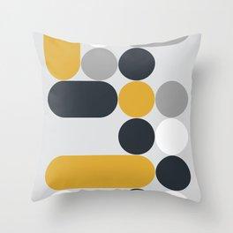 Domino 01 Throw Pillow