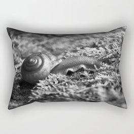 No Hurry Rectangular Pillow