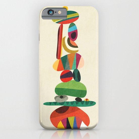 Totem - balanced pebbles iPhone & iPod Case