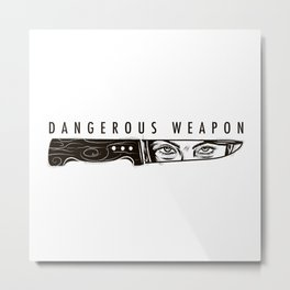 Dagger & I Metal Print