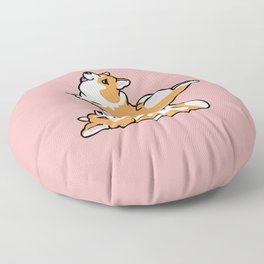Acroyoga  Corgi Floor Pillow