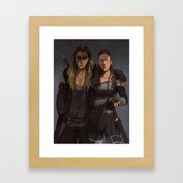 Her Second Framed Art Print