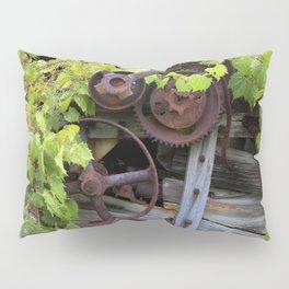 Overgrown Machinery Pillow Sham