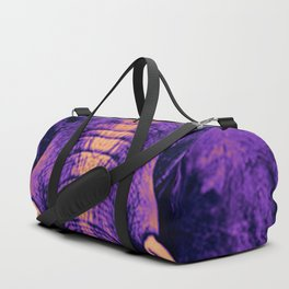 Purple Elephant Duffle Bag
