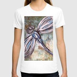 Rustic Dragonfly Art T-shirt