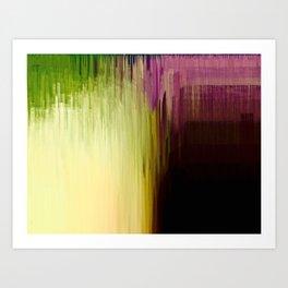 Raining Colors Art Print