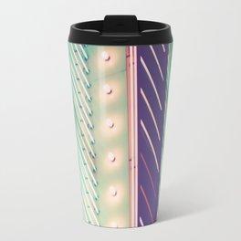 Turquoise Neon Travel Mug
