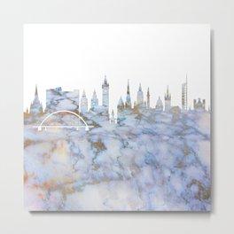 Glasgow Skyline Scotland Metal Print