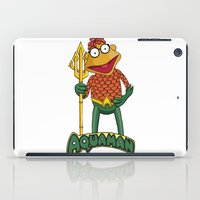 aquaman iPad Cases featuring Scooter the Aquaman by JoshEssel