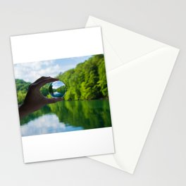 Lensball Landscape, Dale Hollow Stationery Cards