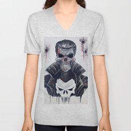 Punisher Skull Unisex V-Neck