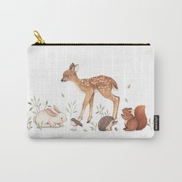 Woodland Friends Carry-All Pouch